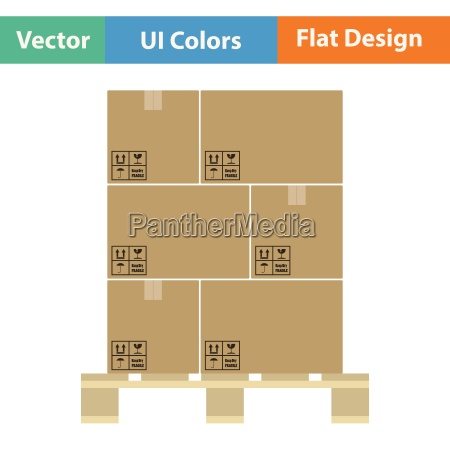 cardboard, package, box, icon - 25526178