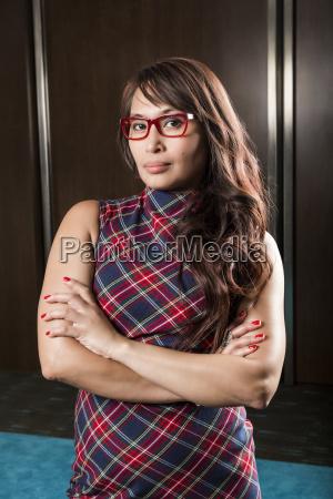portrait of a mature business woman