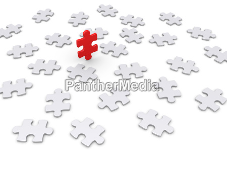 puzzle piece wins other ones