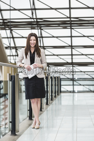 mature business woman posing in an