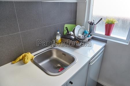 tidy kitchen detail