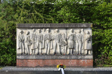 monument liberation by the soviet