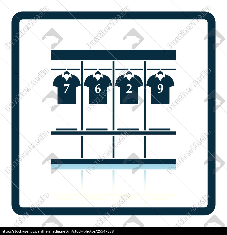 locker, room, icon - 25547888