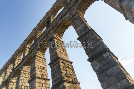 segovias aqueduct is one of the