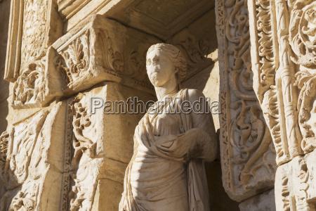statue of sophia wisdom on the