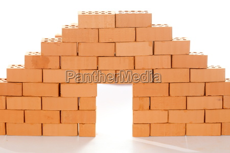 brick wall with gate