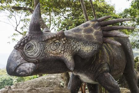 sculpture of a dinosaur ko samui
