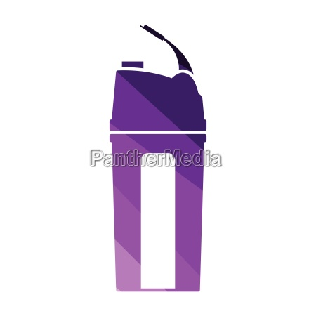 fitness bottle icon