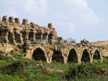 archaelogical site in alanya