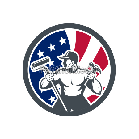 american handyman usa flag icon
