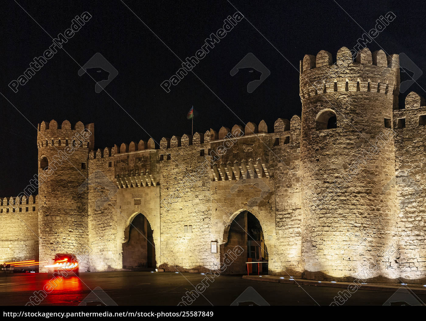 old, city, fortress, gates, landmark, in - 25587849
