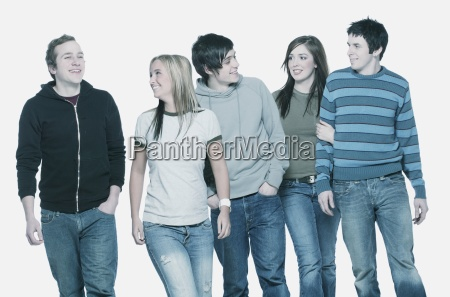 a group of young people