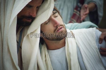 jesus comforts