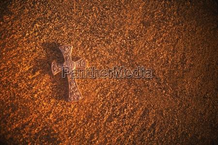 stone celtic cross