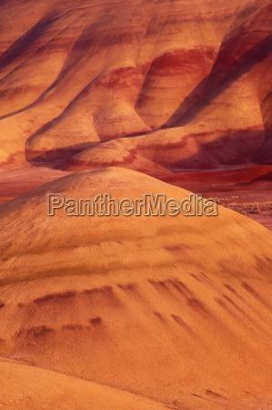 red orange earth usa