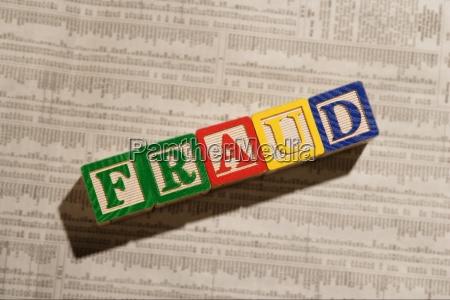 a fraud