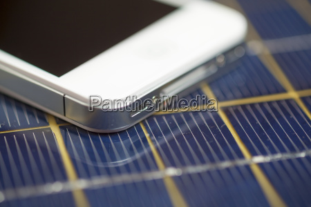 smartphone device cell phone charging with