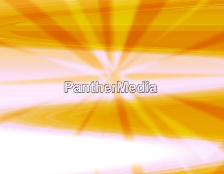 orange burst abstract background
