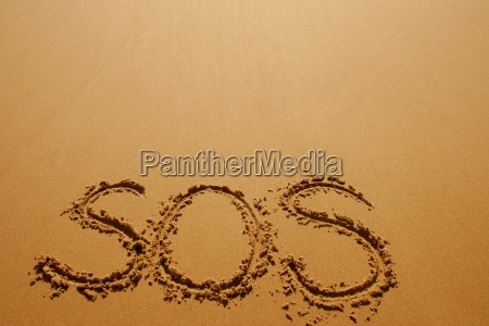 sos in the sand