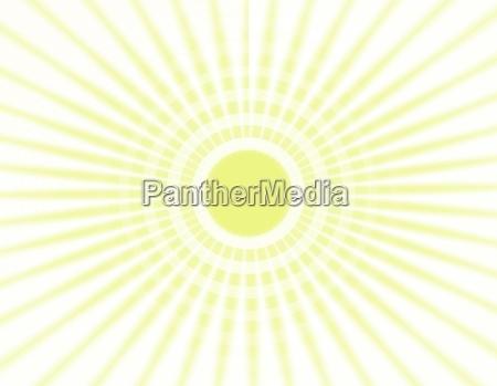 sun beams illustrations
