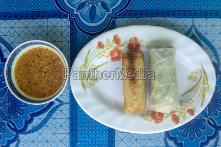 cambodian spring rolls
