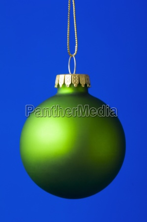 a christmas decoration globe