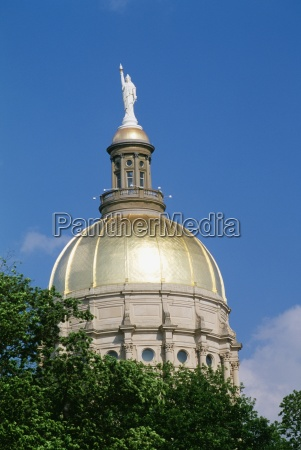 dome of the georgia state capitol