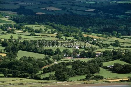 fields near conwy wales