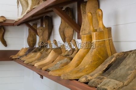 shoe molds on shelf fort edmonton