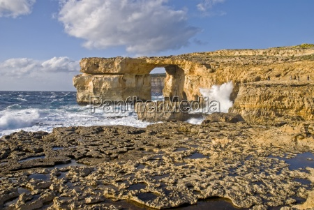 azure window gozo malta europe