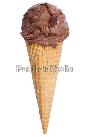 chocolate ice cream ice cream in