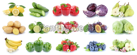 fruits and vegetables fruits apple lemon