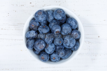 blueberries blueberry berries from top wooden