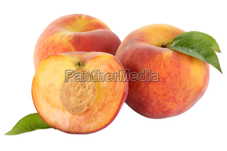 peach peaches fruit fruits fruit cut