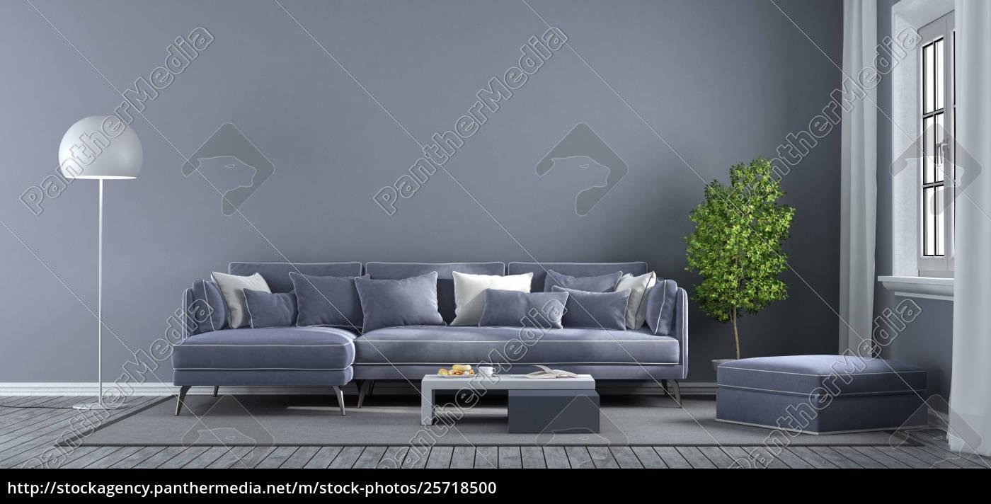 Modern Living Room Royalty Free Photo