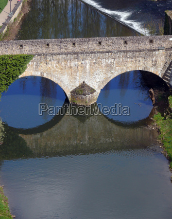 fortress bridge over the alzette in