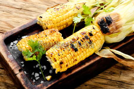 tasty grilled corn