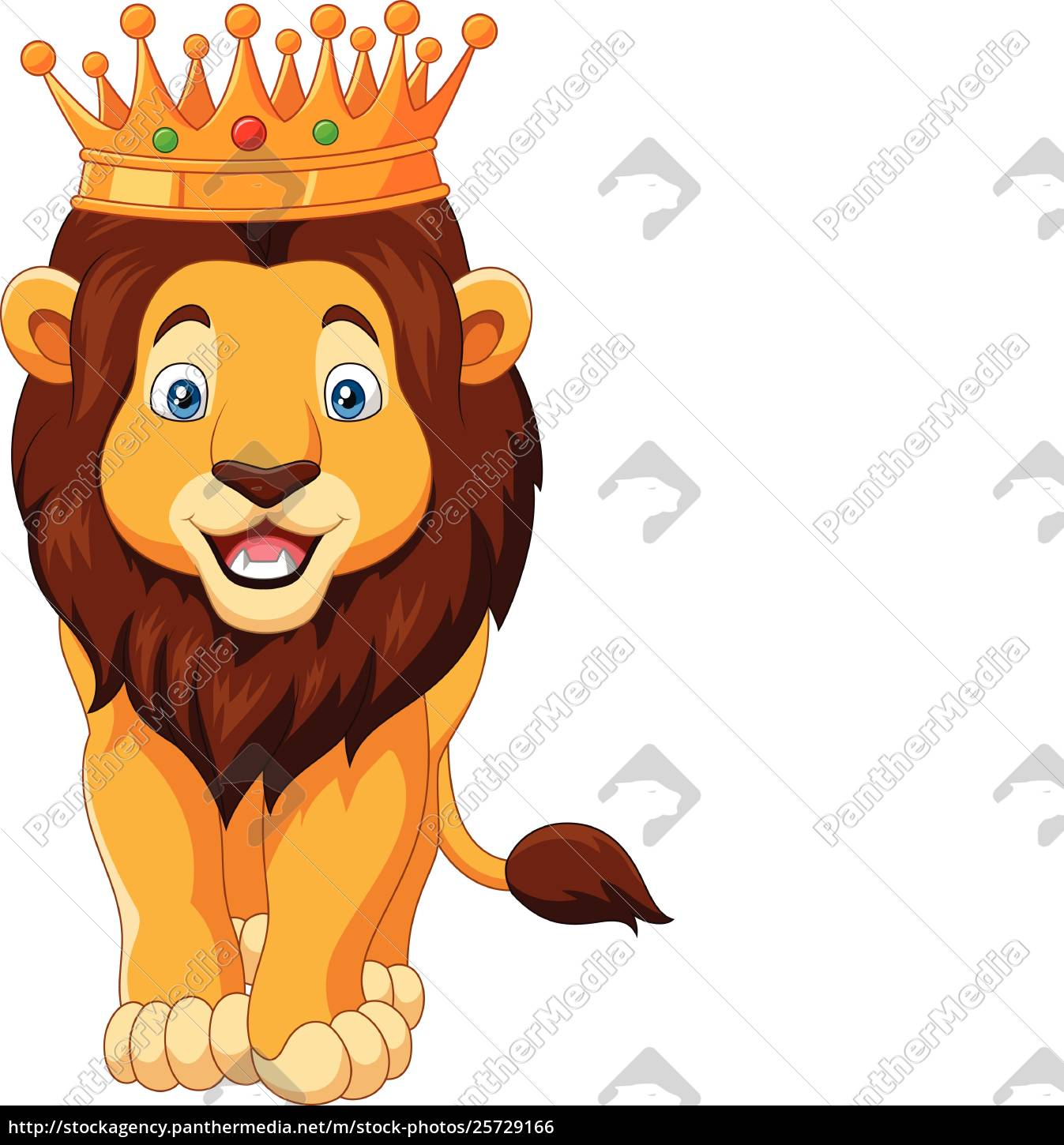 Cartoon Lion Wearing A Crown Stock Image 25729166 Panthermedia Stock Agency Check out our lion crown clipart selection for the very best in unique or custom, handmade pieces from our shops. https stockagency panthermedia net m stock photos 25729166 cartoon lion wearing a crown