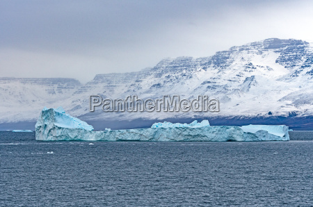 large iceberg off the coast of