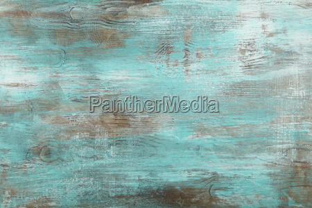 grunge blue painted antique wooden background