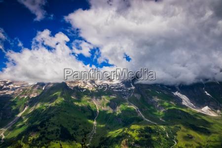 hohe tauern mountain landscape