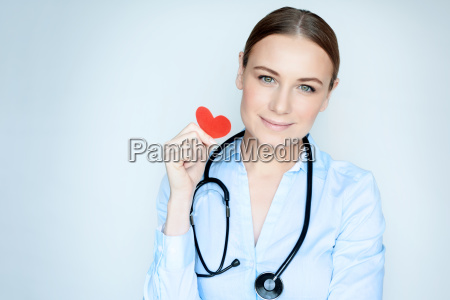 conceptual photo of heart care