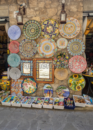 ceramics shop in the main