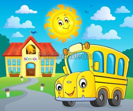 school bus thematics image 2
