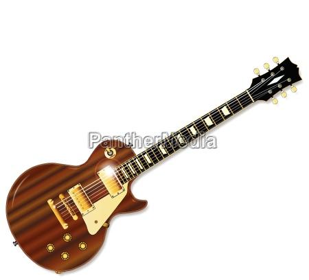 solid mahogany guitar