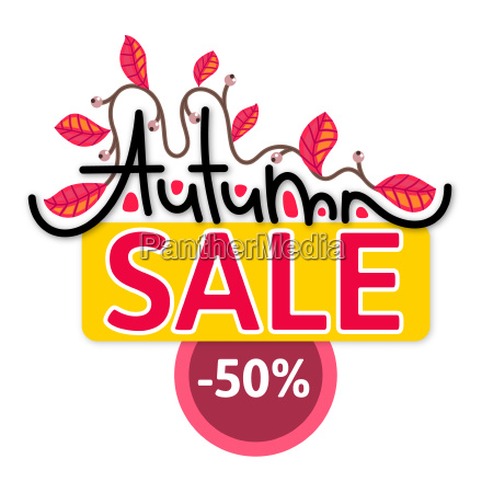 autumn sale discount in fall branch