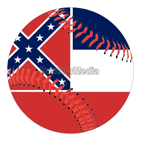 mississippi flag baseball