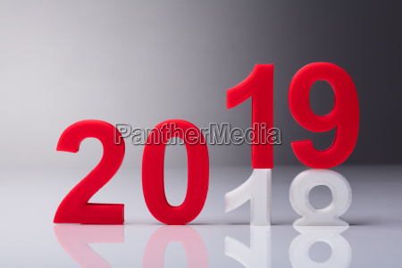 year 2019 coming concept