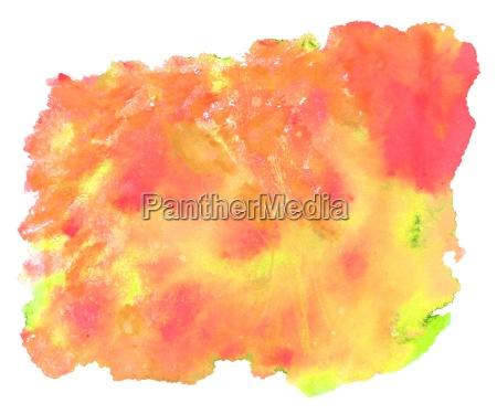 watercolor texture orange yellow red