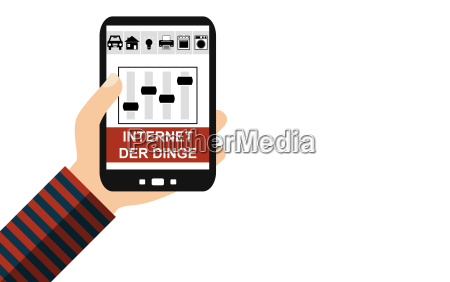 smartphone internet of things german